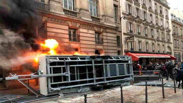 sciopero a Parigi