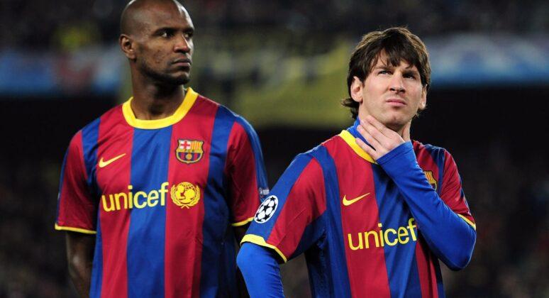 Abidal vs Messi