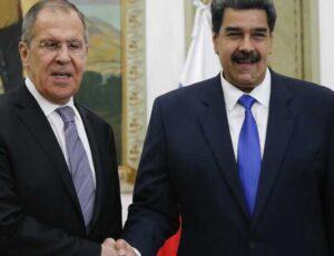 Sergey Lavrov- Nicolas Maduro