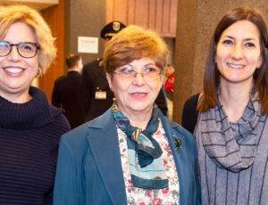 ricercatrici Maria Capobianchi, Francesca Colavita e Concetta Castilletti