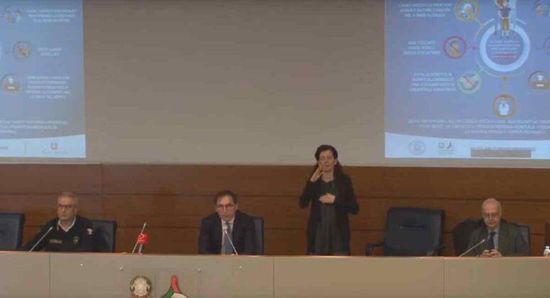 Conferenza Boccia e Borrelli