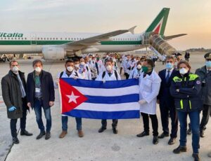 MINSAP cubani in Italia