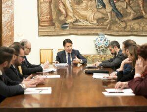 riunione dei capidelegazione